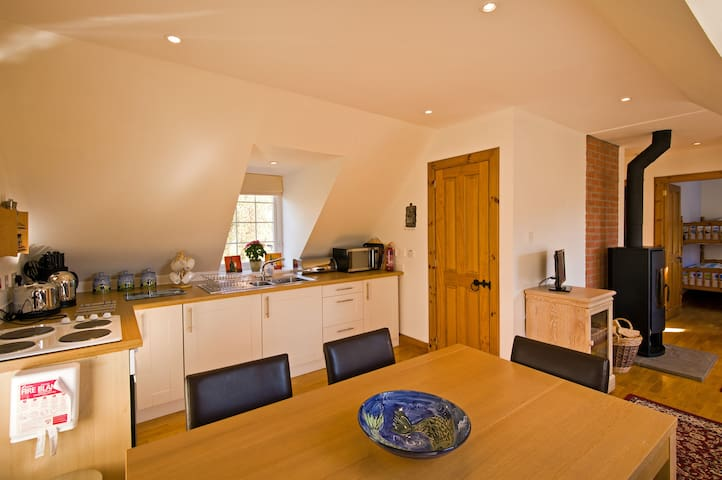 Lovely apartment in Royal Deeside - Glen Tanar - Daire