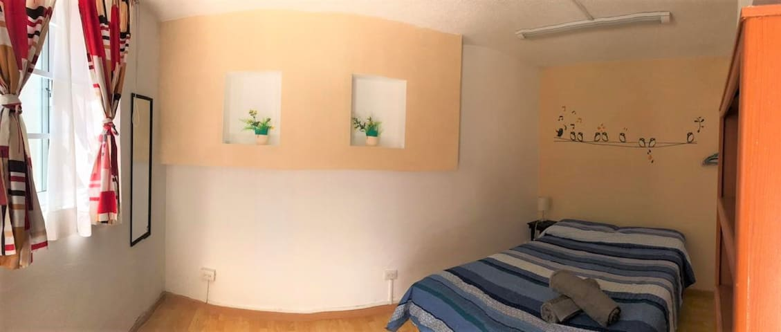 Casa en La Noria. Dos habitaciones en PB