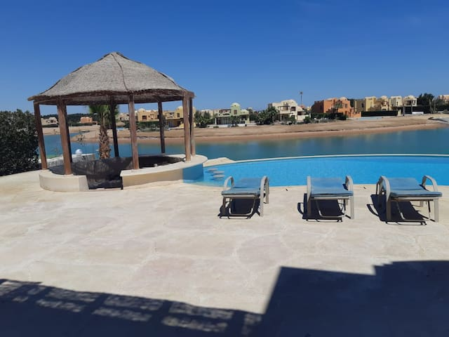 West Golf villa in El Gouna with private pool G