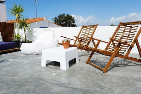 Terrace studio in Comporta