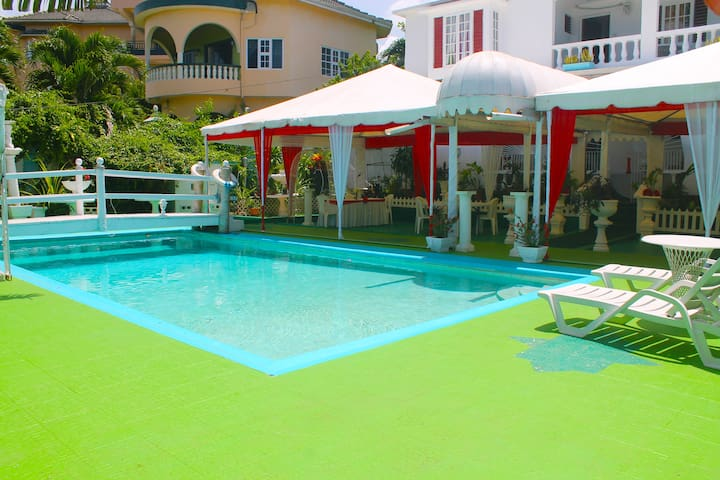POOL AREA FOR GUEST TO SWIM