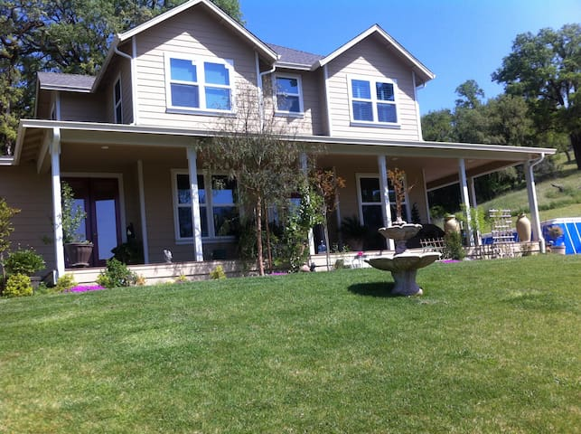 Spacious Home in Mendocino County - Ukiah - Talo