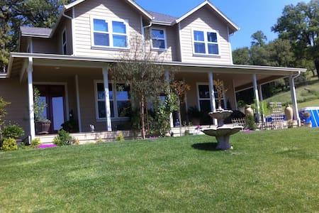 Spacious Home in Mendocino County - Ukiah - Rumah