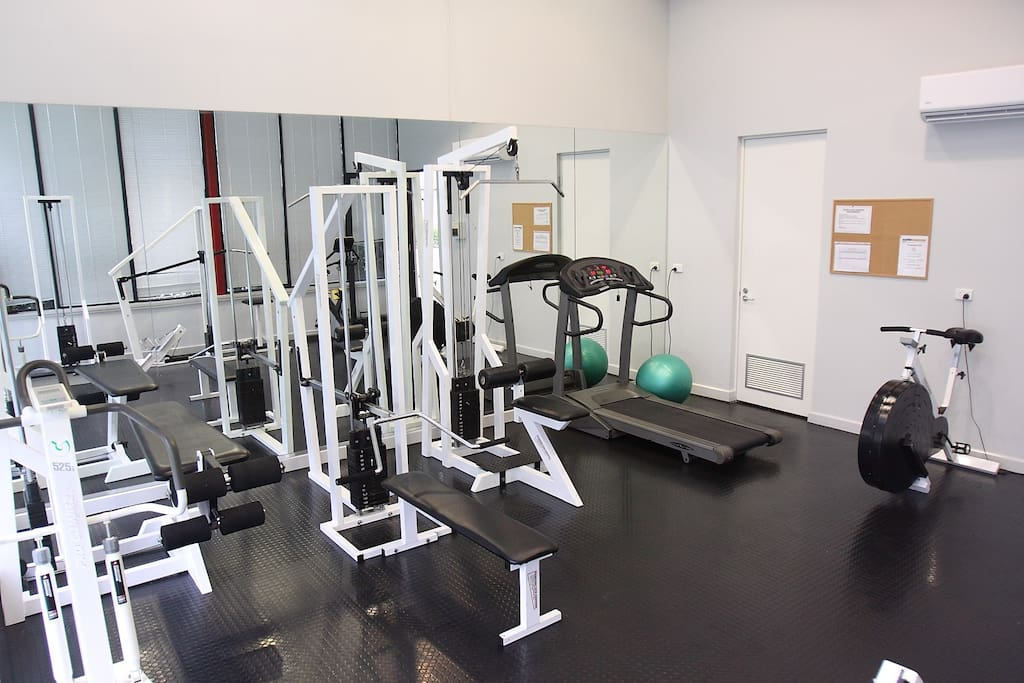 Free Use of the Gym just for our building