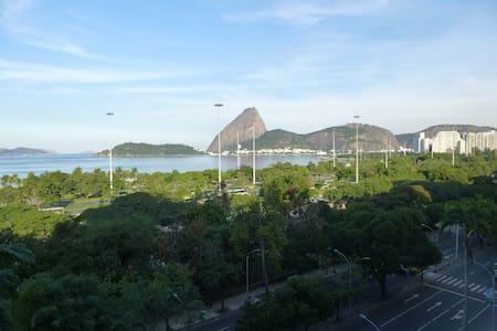 Rio/Flamengo: de frente/ocean view - Rio - Apartment