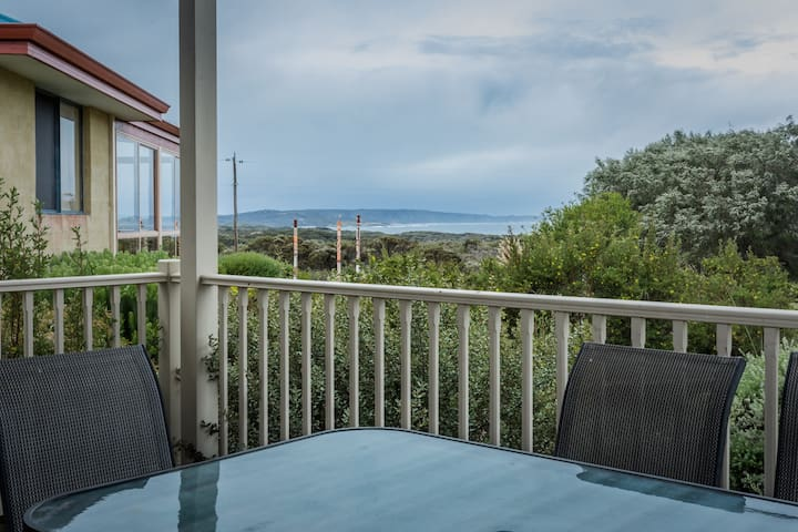 Stunning ocean views from veranda