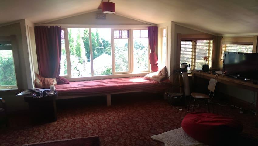 Warm Loft room