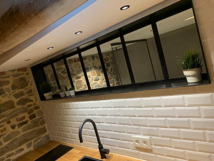 Tynil Saint Jean: renovated old barn + nordic bath