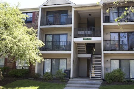 Spacious 2 BR 2 bath condo (260) - Piscataway Township - Apartment