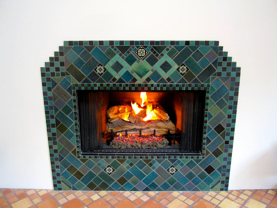 The fireplace—remarkably beautiful!