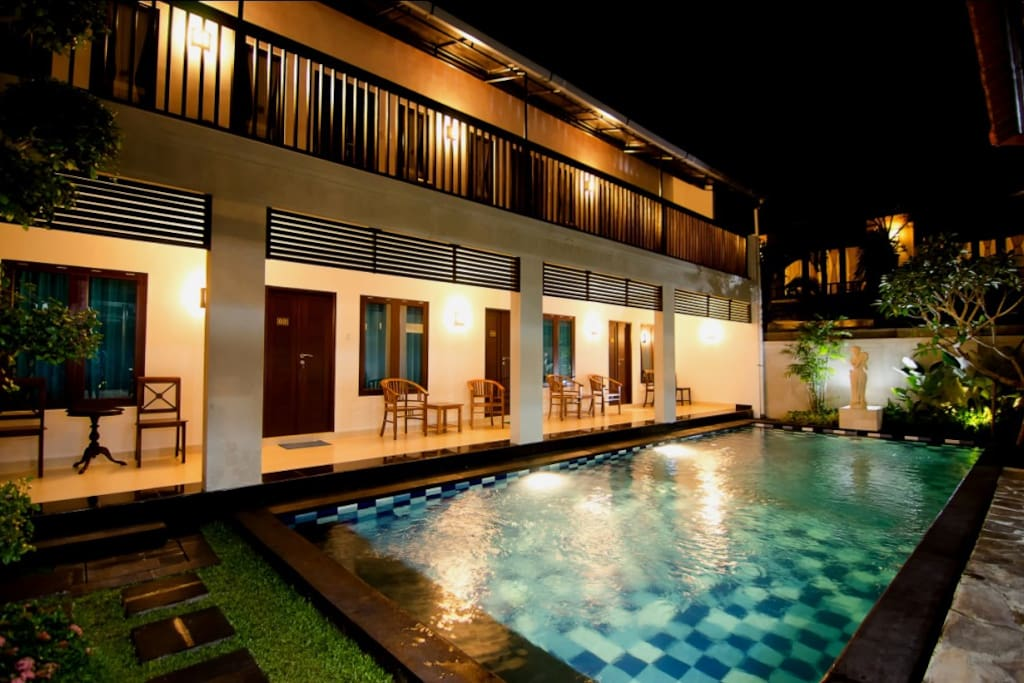 Pool Front Room in sanur