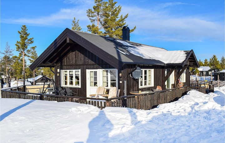 Amazing home in Tisleidalen with WiFi and 2 Bedrooms