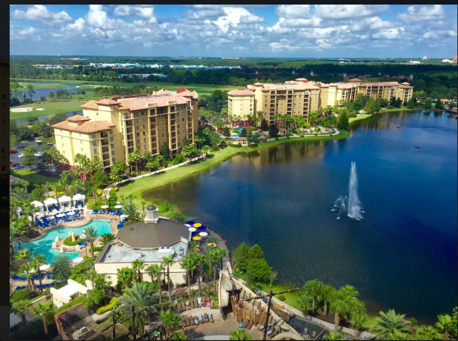 All unit locations are assigned by Wyndham at check-in. We can not guarantee a specific building, floor level, or view. We are only able to book by unit type. All view, and unit request can be placed with the front desk at check in, the resort will do their best to accommodate you.