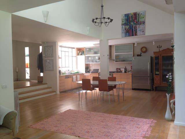 A Danish house in Modiin Reut   - Modi'in-Maccabim-Re'ut - Casa