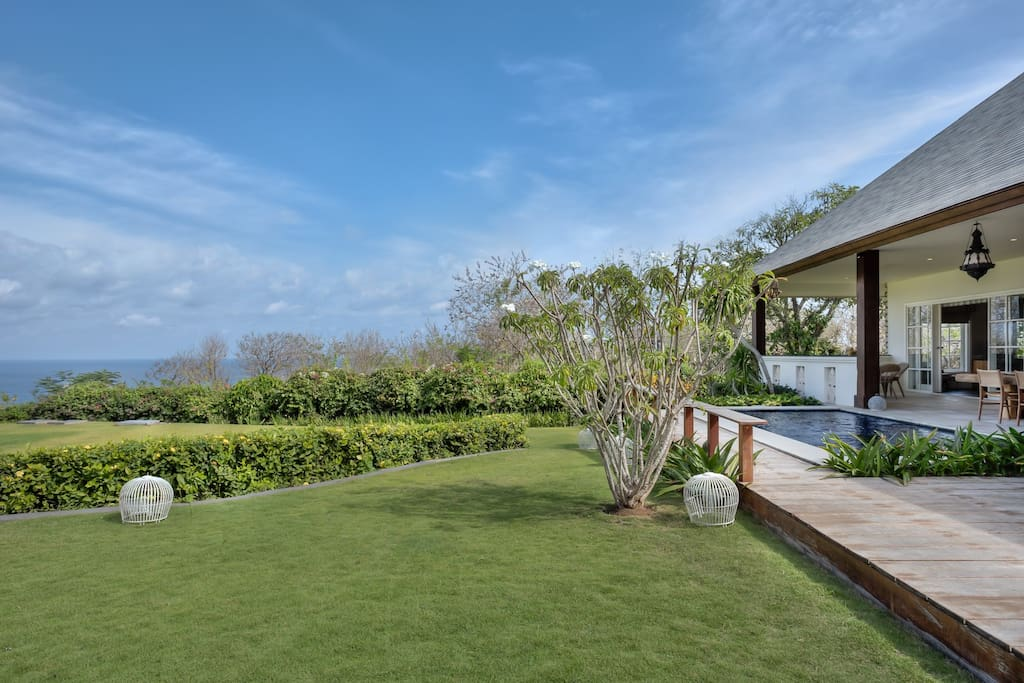 Garden to Ocean view
