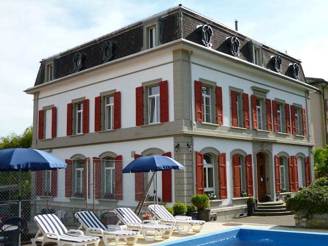 Hôtel Garni Villa Carmen  - La Neuveville - Casa de campo
