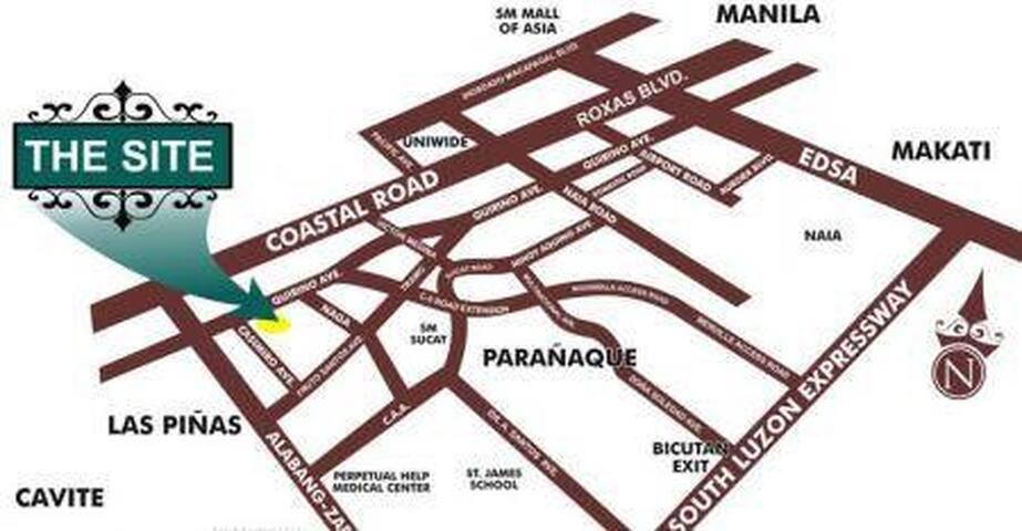 2BR Maricielo Villas - Spanish style condo w/ wifi - Las Pinas - Villa