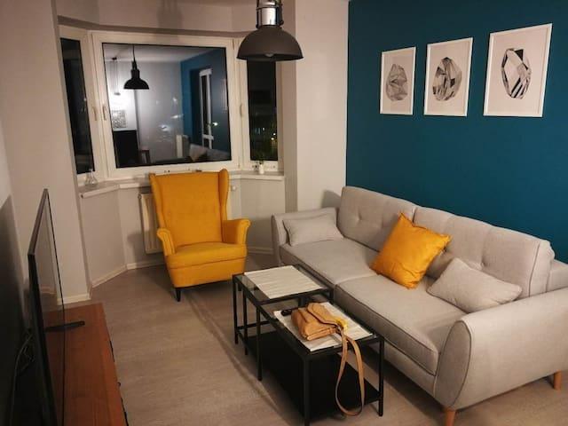 Cosy Studio in Ruczaj (Western Krakow)