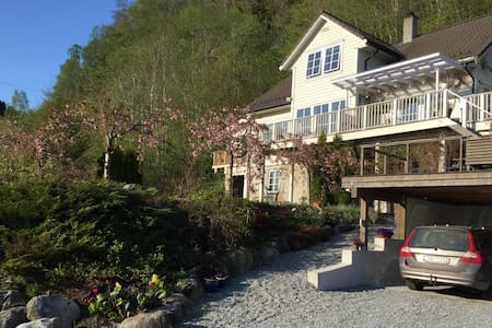 Spacious familyhouse in the middle of Hardanger.