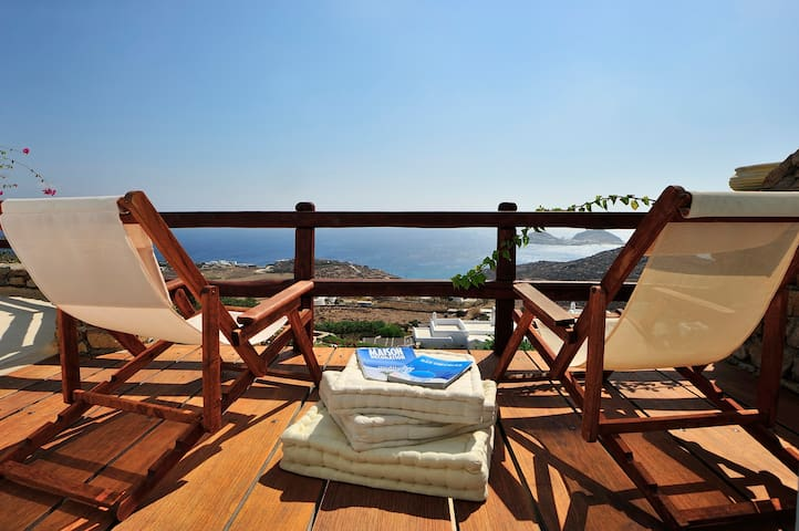 Superb SouthView, 4Bd House, Mykonos,Lia-Kalafatis