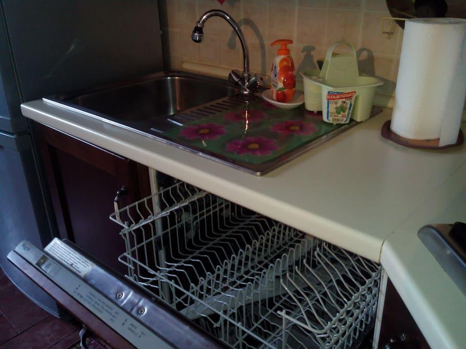 angolo cottura-lavastoviglie