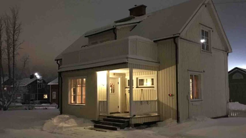 Cozy house with sauna and 7 beds in central Kiruna