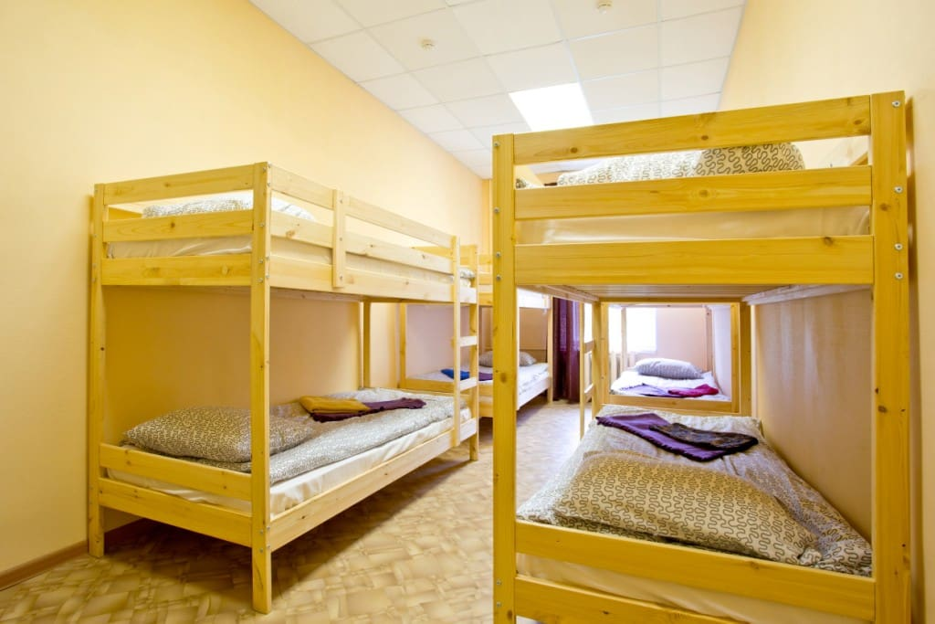 Dorm with 8 beds