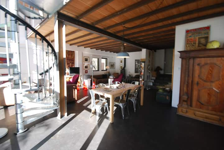 XXL-Loft in Uzès center / Provence