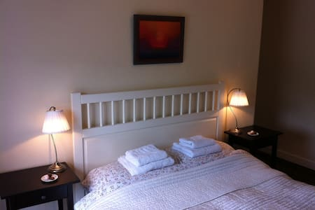 Lovely double room in Llangollen! - Llangollen - Ház
