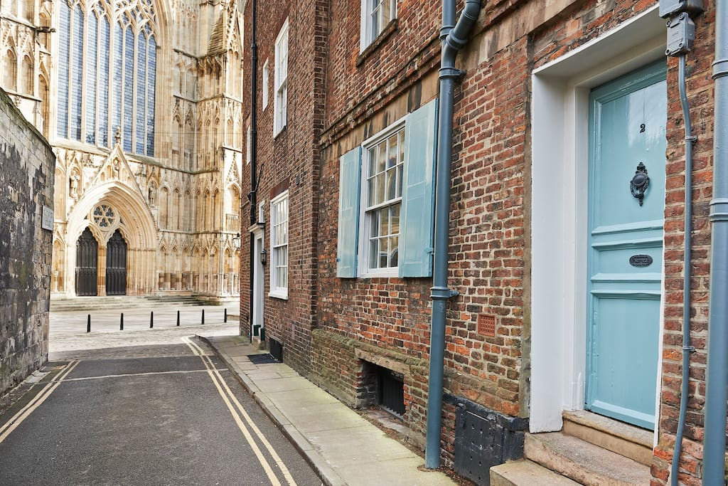 Unbeatable location next to York Minster