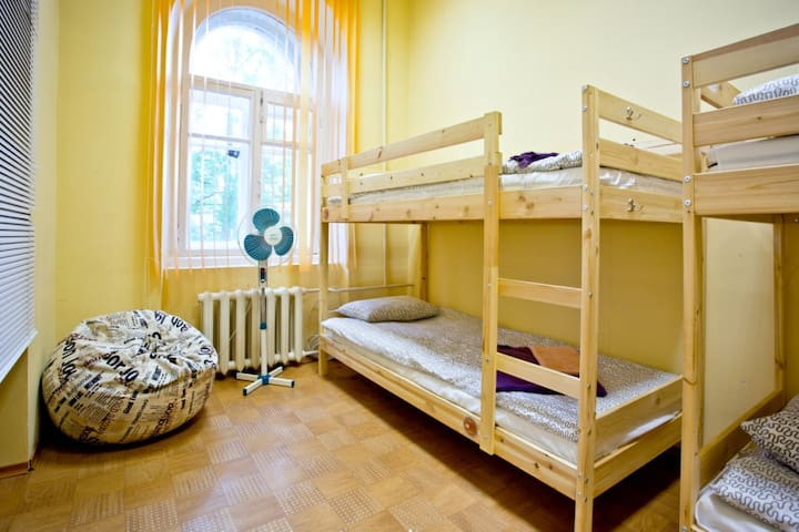 Yaroslav Hostel Dorm with 4 beds - Veliky Novgorod
