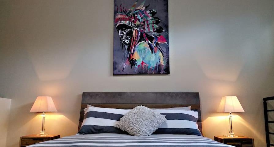 Loft Bed - High Quality Linen