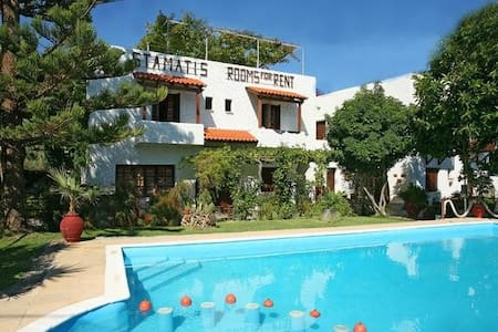 Summer Lodge double room in Crete 3 - Πύργος Ψηλονέρου