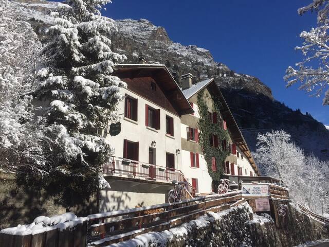 Hotel Au Bon Accueil Hiver