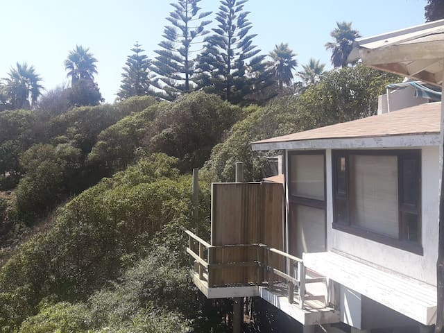 Frente al mar espectacular vista un lugar unico ..