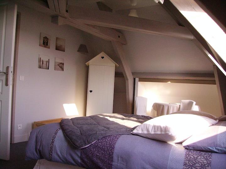 Cabine de plage (avec petit déj.)Chambre d'hôtes