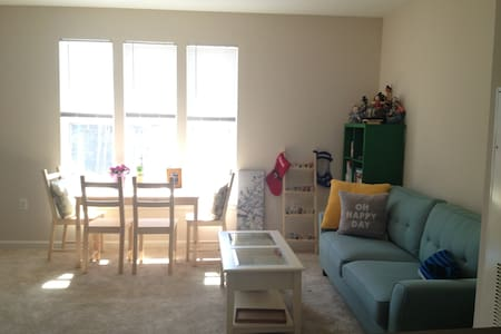 Large, bright, METRO Area Gem - Rockville - Appartement