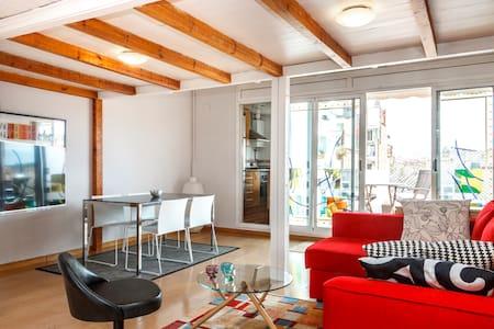 Sunny Terrace in Plaza España - Barcellona