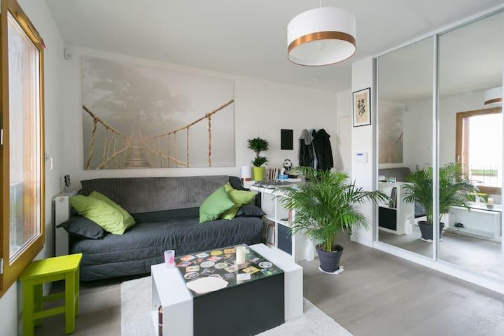 Cosy flat 42m² / 10min from Paris - Bourg-la-Reine - Daire
