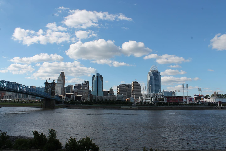 Best view of Cincinnati also just two blocks away