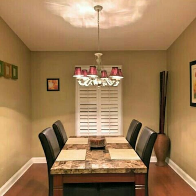 Enjoy your dining room