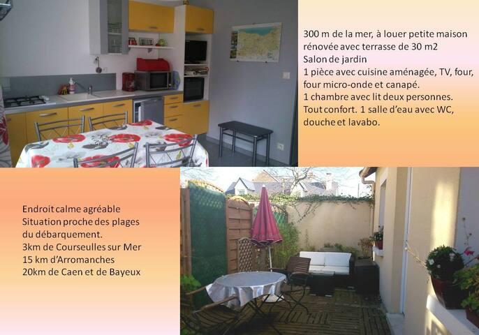 Petite maison à la mer - Bernières-sur-Mer - House