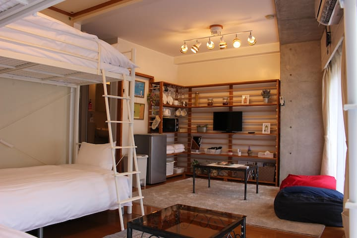 15 minutes walk from Senkoji Park Fashionable spot - Onomichi-shi - Apartment