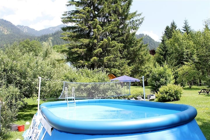 Huge Cottage in Hermagor-Pressegger See with Swimming Pool