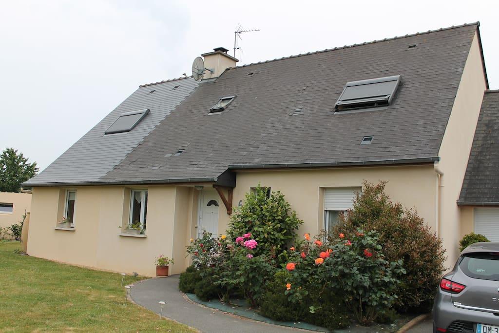 Maison l 39 entr e de la presqu 39 ile de rhuys maisons louer surz - L entree de la maison ...