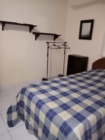 Habitación Privada en el centro de Asunción