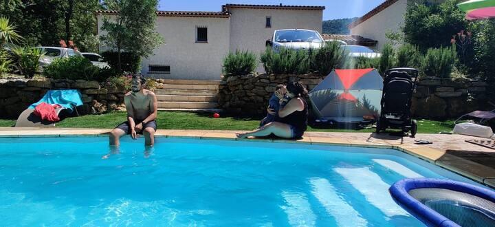 Appartement 35 m2 avec piscine