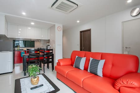 4/ New & Cosy Family Apartment - Geylang  - Apartment