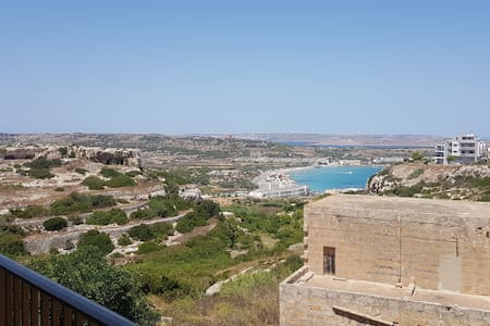Valley View  Apartment  - Beach/Shops &Gozo Ferry