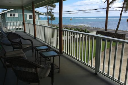 Beachfront Couple's Retreat on Windward Oahu - Kaaawa - Apartamento